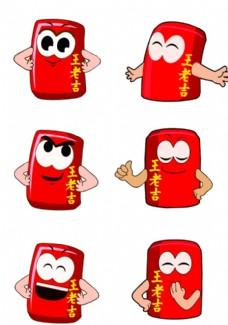 王老吉卡通人物