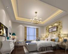 简单欧式卧室