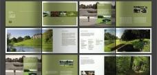 大氣綠色環保畫冊
