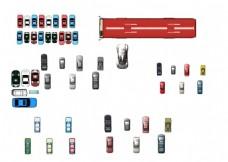 汽车素材平面效果图