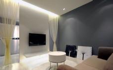 客厅 电视背景墙