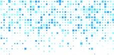 蓝色科技几何抽象方块底纹