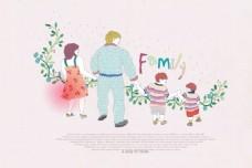 家庭人物生活素材