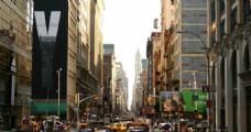 纽约城市建筑街景