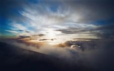 风云变幻的天空