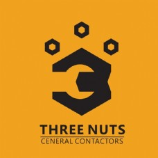 three nuts 标志