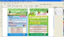色彩 宣传单  单页 培训 学