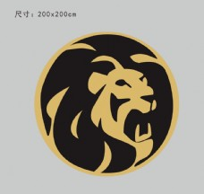 矢量 狮子头