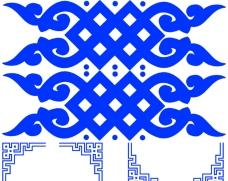 蒙古花紋 蒙古花邊 邊框 PS