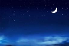 星空夜晚 分层