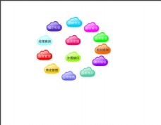 云朵  图标  app