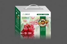 大樱桃包装箱-平面图(四面)