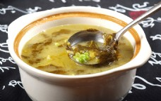 酸菜豌豆汤