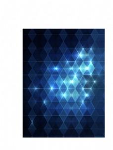 蓝色菱形背景