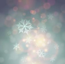 幻背景雪花