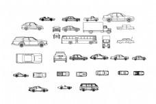 汽车CAD图块