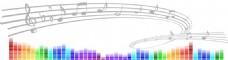音乐音符创意海报