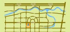房产项目交通区位图