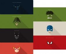 8款漫威DC英雄人物面具素材