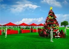 圣诞活动场景