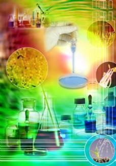 PSD分层素材 医学试验器材