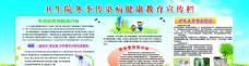 卫生院冬季传染病健康教育宣传栏
