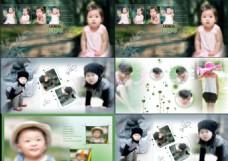 儿童PSD相册模板