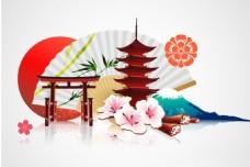 中式建筑 中国风图标 传统素材