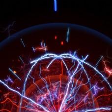 大闪电爆炸游戏特效