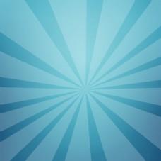 蓝绿色放射背景