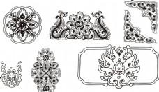 古典民族花纹