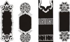 古典花纹边框