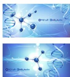 DNA分子醫療檢驗醫療展板