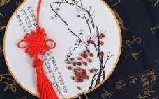 中国风绢扇