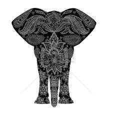 复古大象图