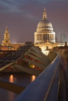城市夜景风光图片