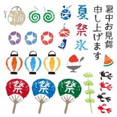 日本风情插画