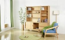 简约风格家具家私沙发柜子茶几书