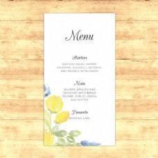 婚宴菜单设计