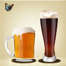 矢量酒杯素材图片