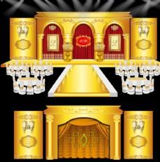 金色教堂主题婚礼