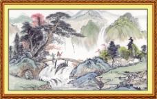 彩绘风景画