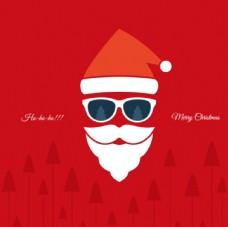卡通圣诞老人头像