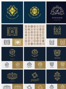 时尚英文标志设计