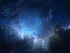 天空中的闪电图片