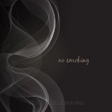 烟雾矢量插图