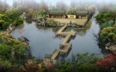 中国古典园林建筑设计图片