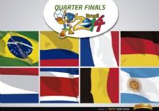 巴西2014队的1/4决赛