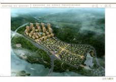 房地产设计鸟瞰效果图片