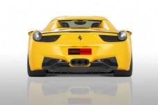 黄色跑车图片
